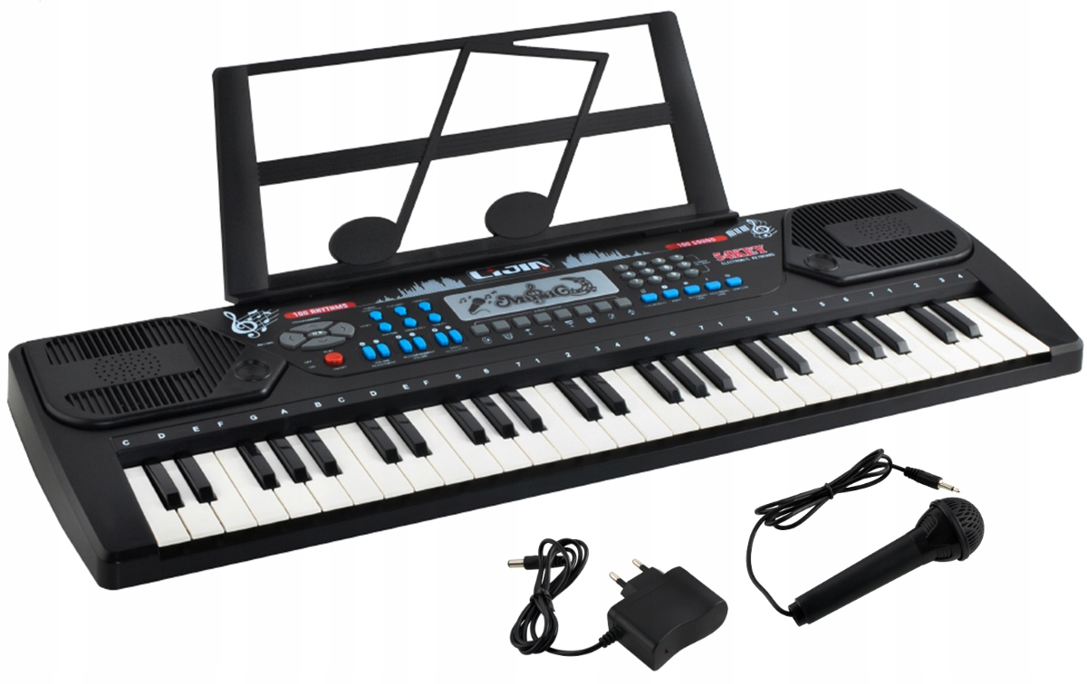 Item Largest Organ Piano Keyboard for Learning 54 Microphone