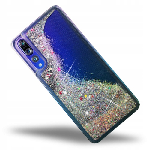 Brokat Liquid Glitter Etui Do Huawei P20 Pro