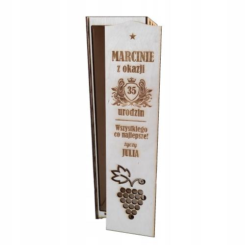 Подарочная коробка Винная коробка алкоголь много дизайнов