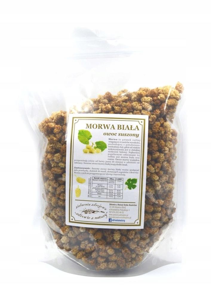 Купить Morwa biała owoc 1kg SKLEP ZIELARSKI на Otpravka - цены и фото - доставка из Польши и стран Европы в Украину.