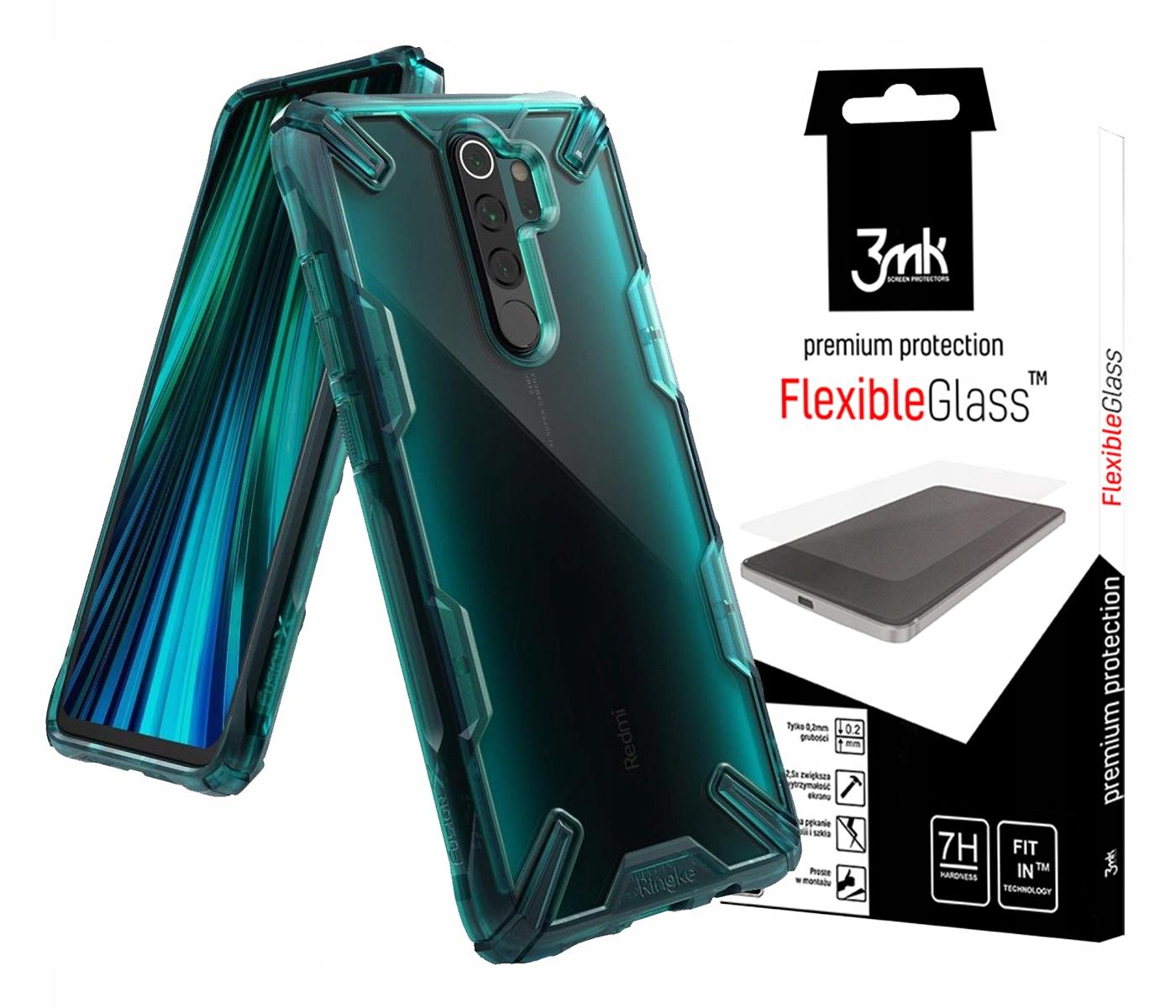 Ringke Fx Szkło Do Redmi Note 8 Pro + Szkło 3MK Fg
