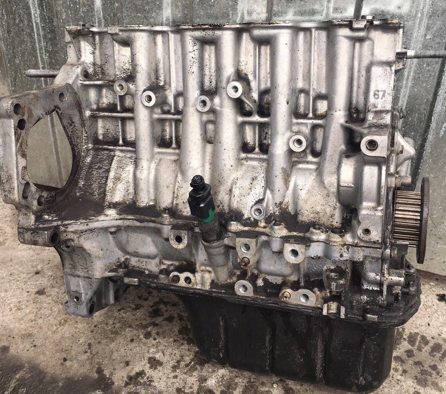 блок двигателя 1 6 ehdi 9h06 партнер berlingo iii