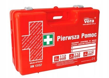 Súprava prvej pomoci Top15 13157+ Suitcase