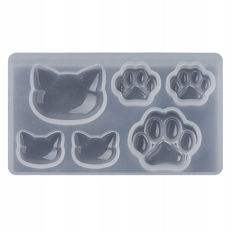 Item BFS77 Form silicone resins KOTOMANIA kitten
