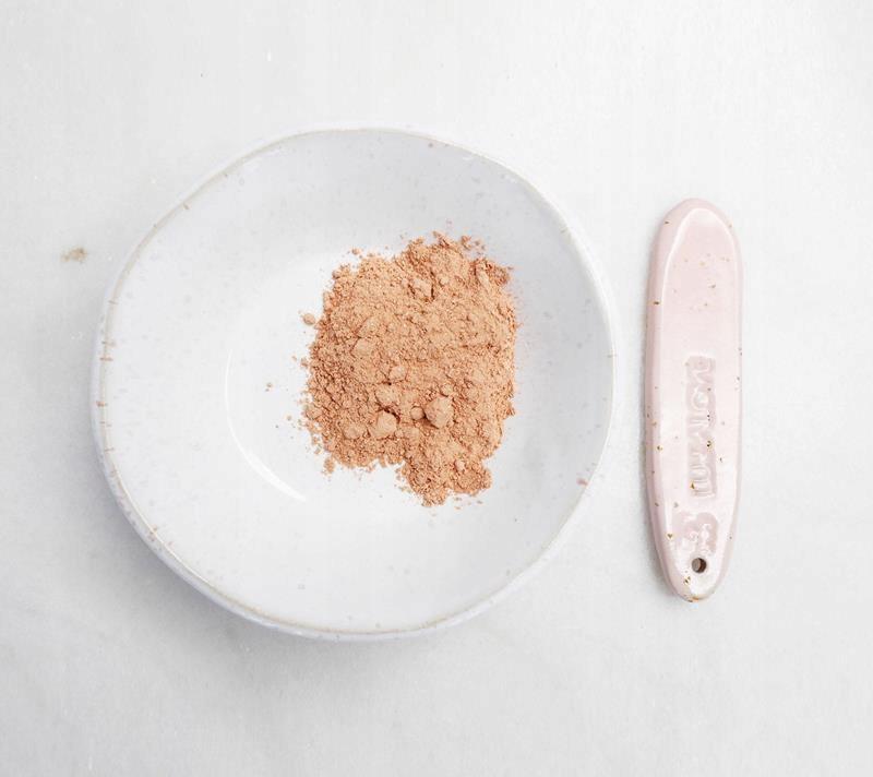 LULLALOVE GLINKA RÓŻOWA 120 gram OCZYSZCZANIE Typ skóry Wrażliwa