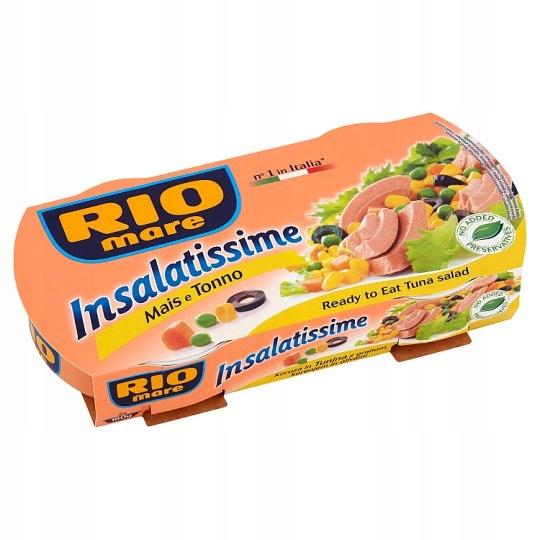 Item PD RIO MARE Sałatka z kukurydzą i tuńczykiem2x160g