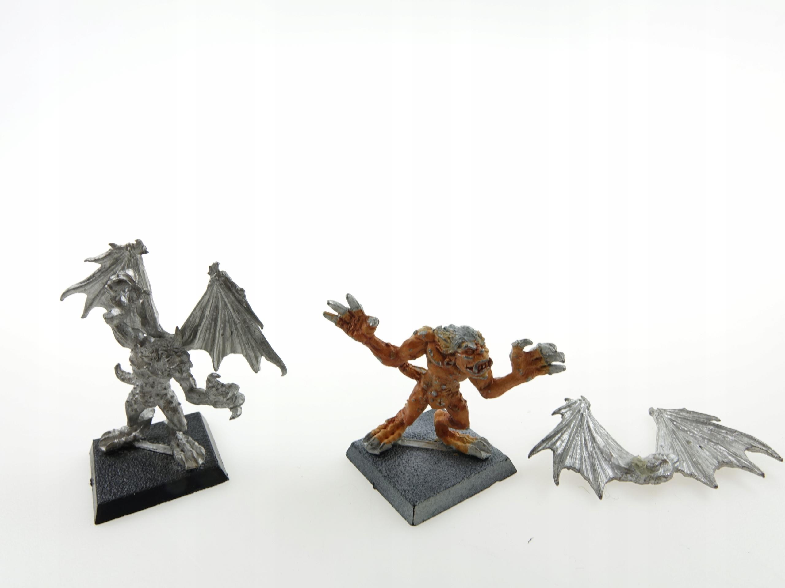 Warhammer Dark Elf Harpies Set 2 Figurines Metal
