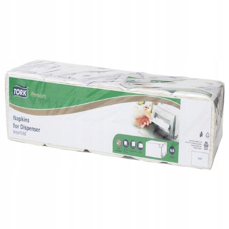 Tork 15940 - Диспансерные салфетки в 2w N4