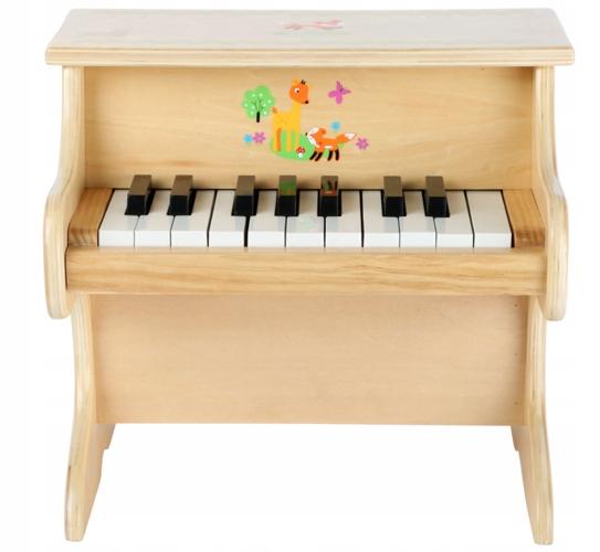 Klavír pre dieťa na hranie Liska