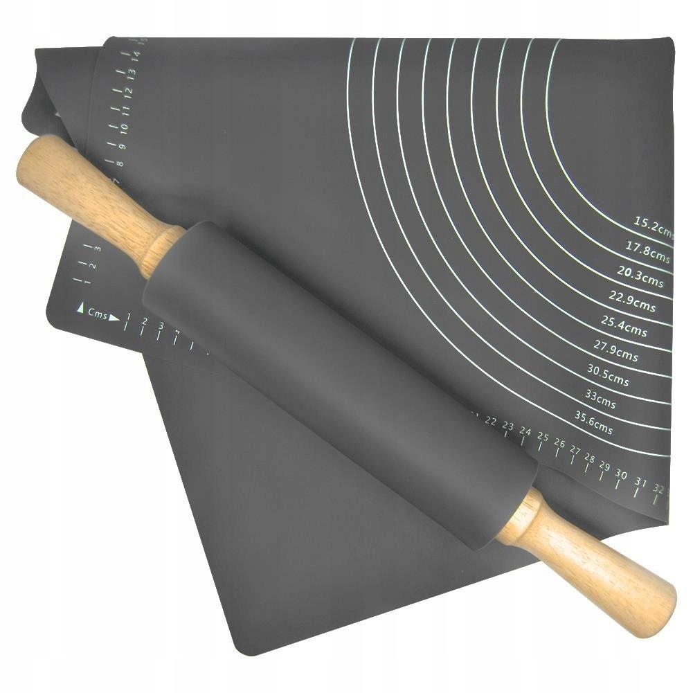 Stolnica silikonowa + wałek silikonowy zestaw