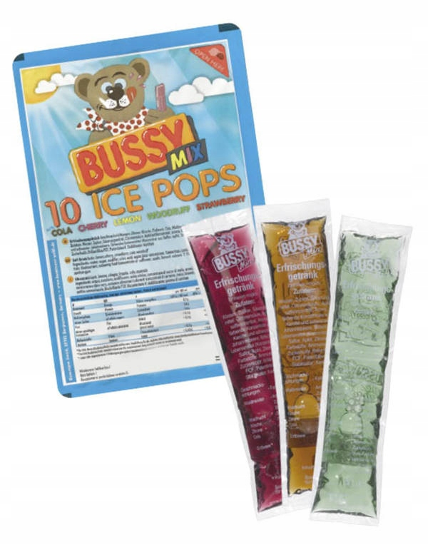Bussy Ice Pops Mix 10 штук