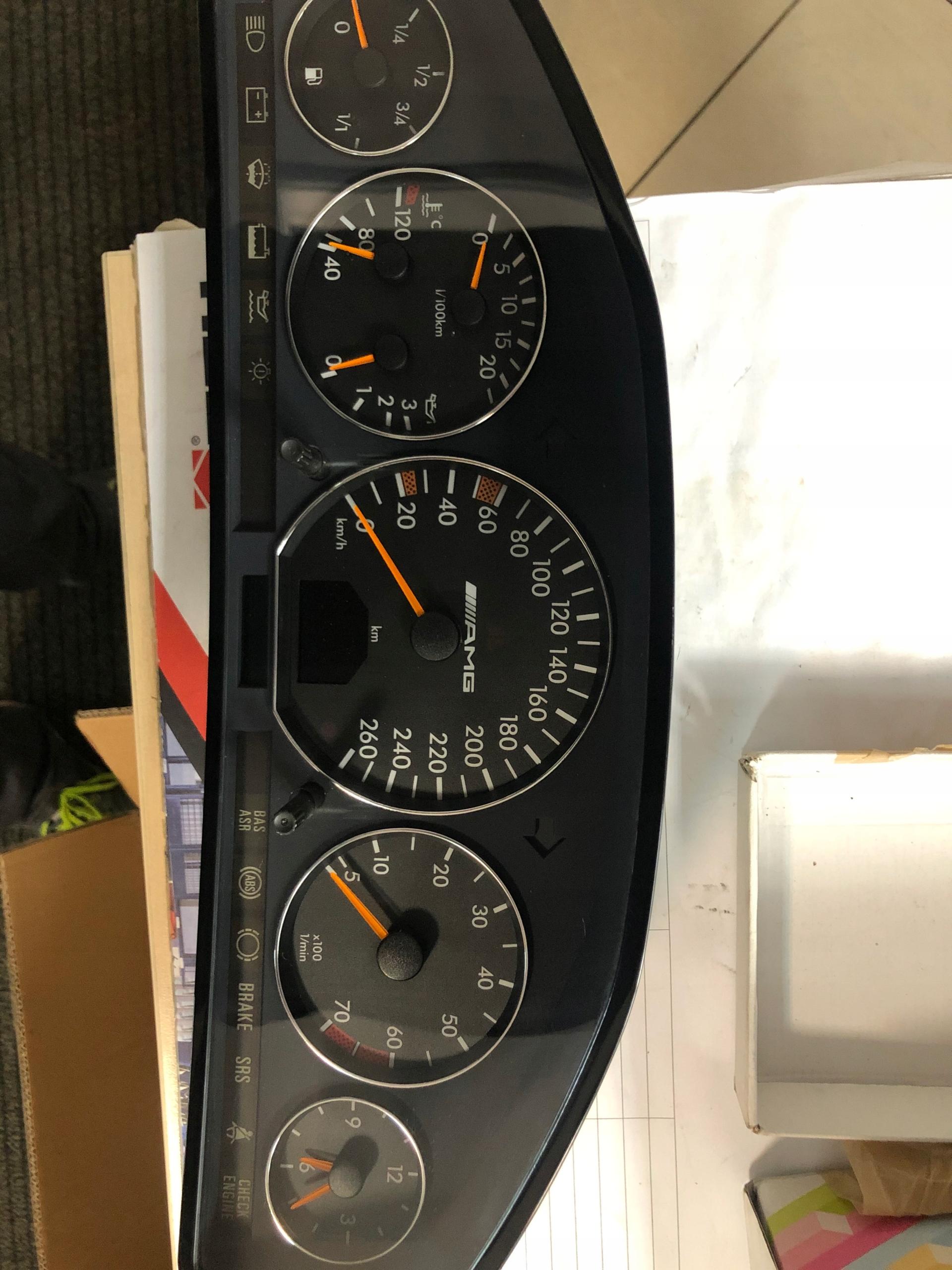 mercedes sl 500 r129 счетчик часы amg возможность