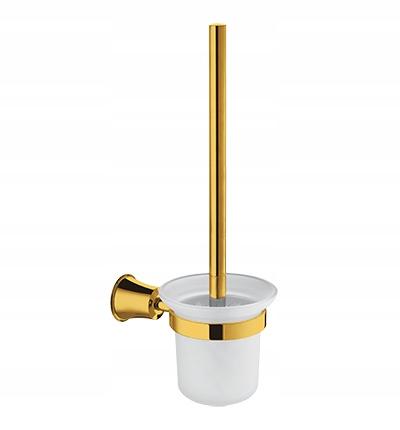 Závesná WC kefa 38 cm ZLATÁ