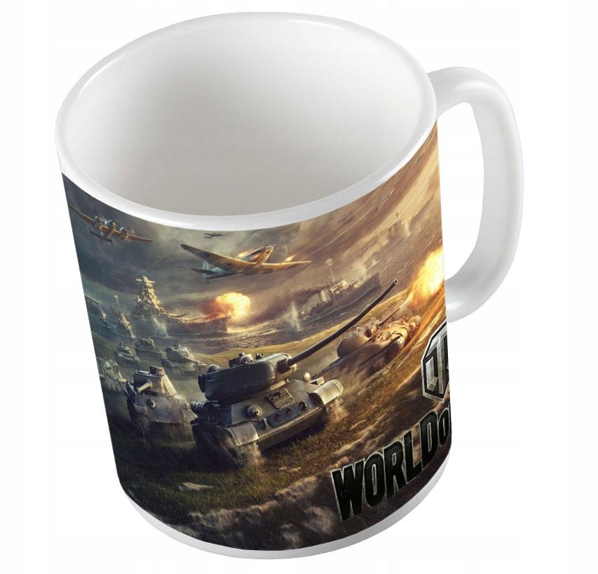 Hrnček World of Tanks War Thunder + Meno a Kartonik