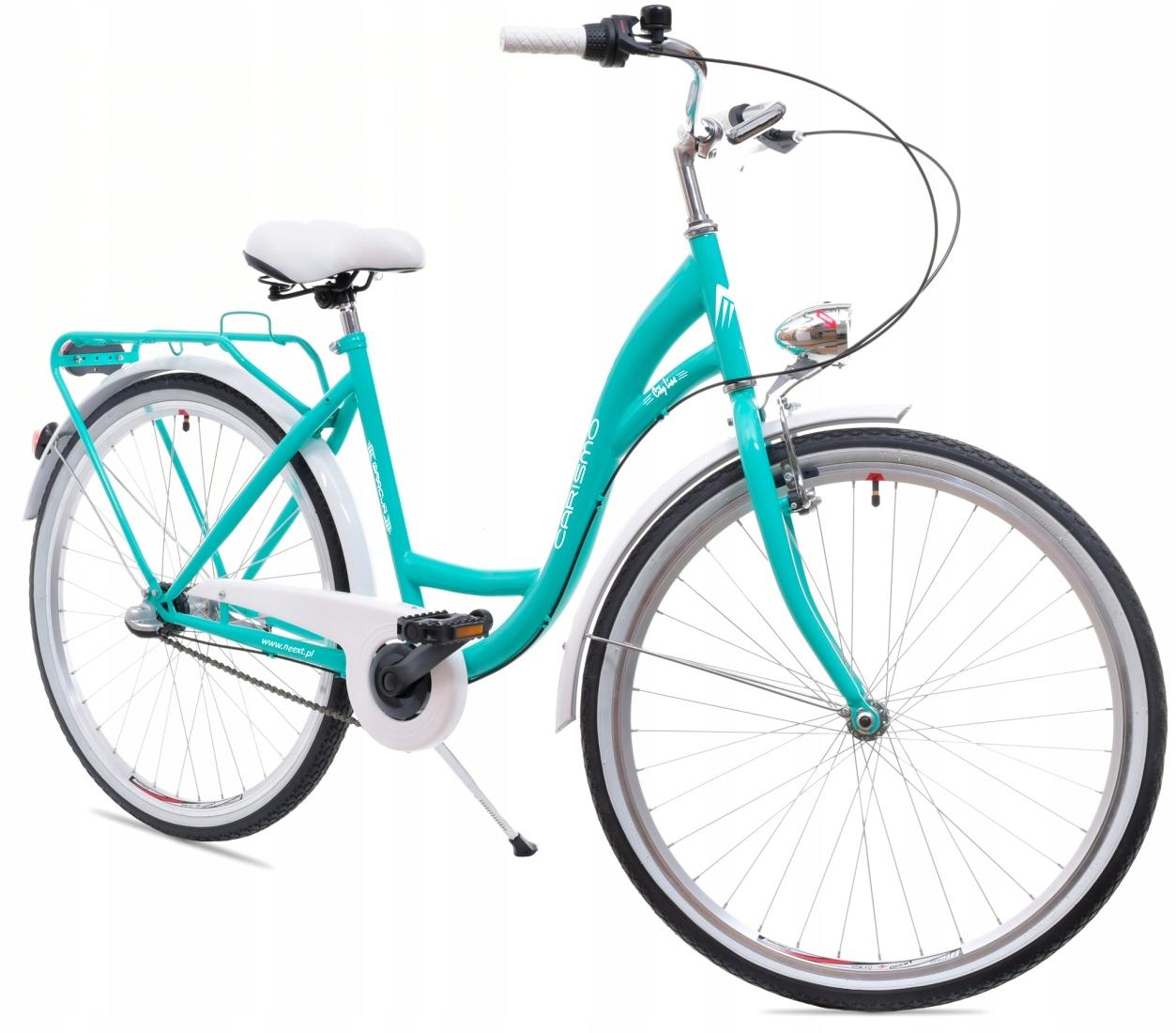 Dámsky mestský bicykel GRACJA 26 Shimano 3b holandský rám 17,5 palca