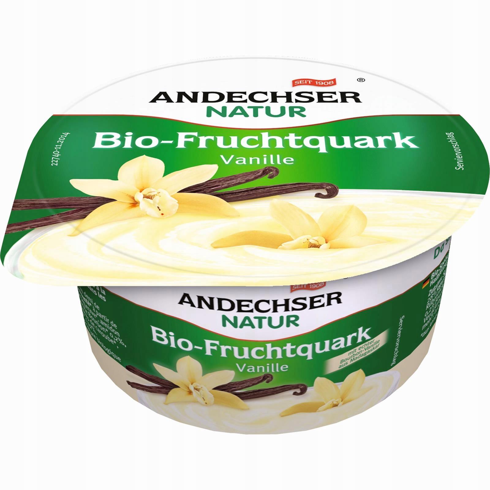 ANDECHSER Творог Ванильный 20% жирности БИО 150 г