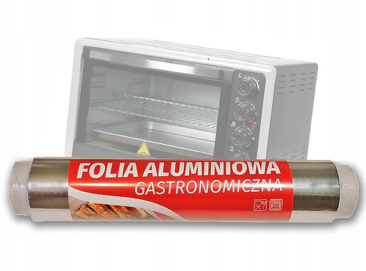 Алюминиевая пищевая пленка 30см/1кг THICK 14 Мик.