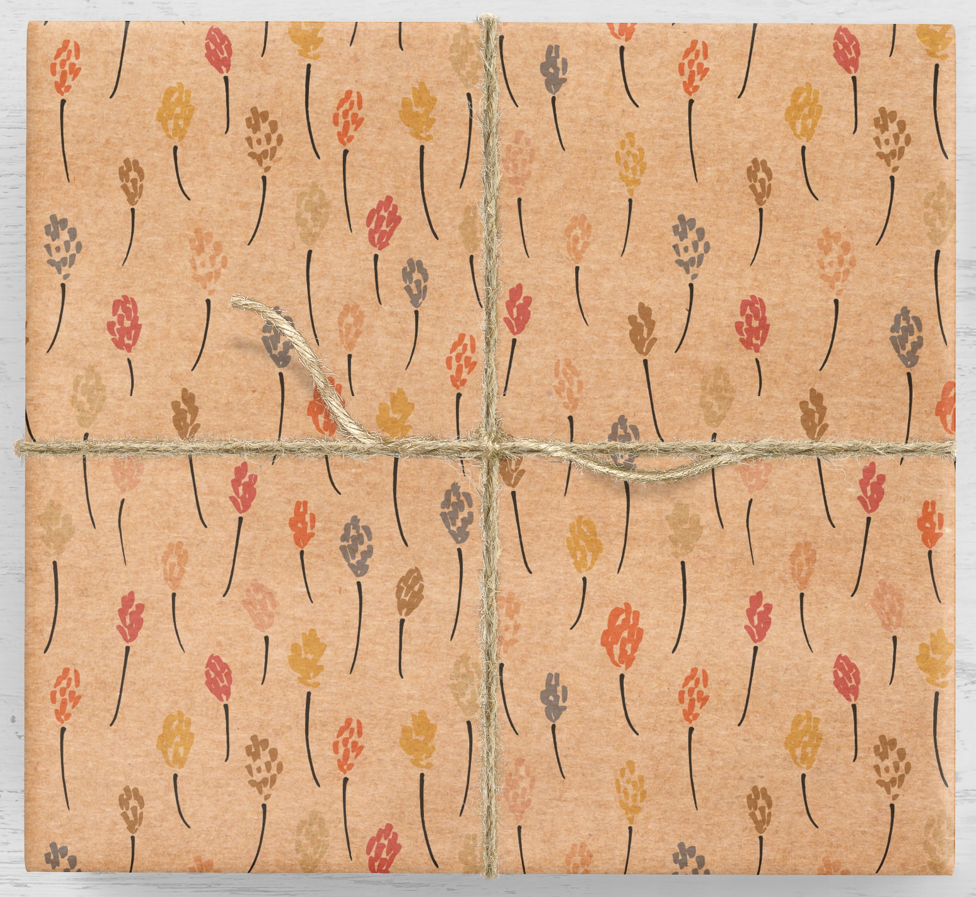 Farebný zafírový darčekový baliaci papier 10