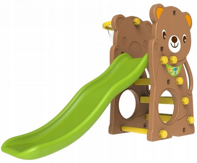 Ihrisko SWING SLIDE 3 v 1 medvedík Medvedík typ plast