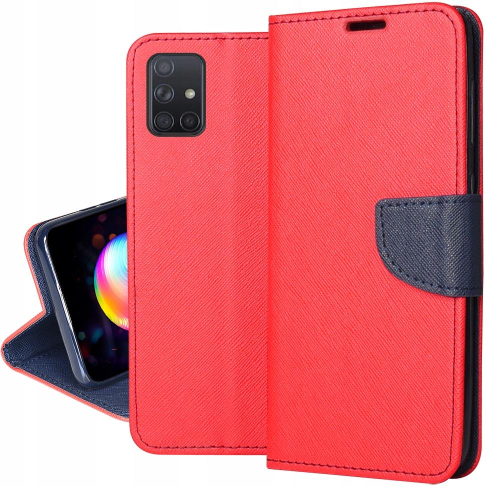 Etui do Samsung Galaxy A51 5G Fancy Portfel +Szkło