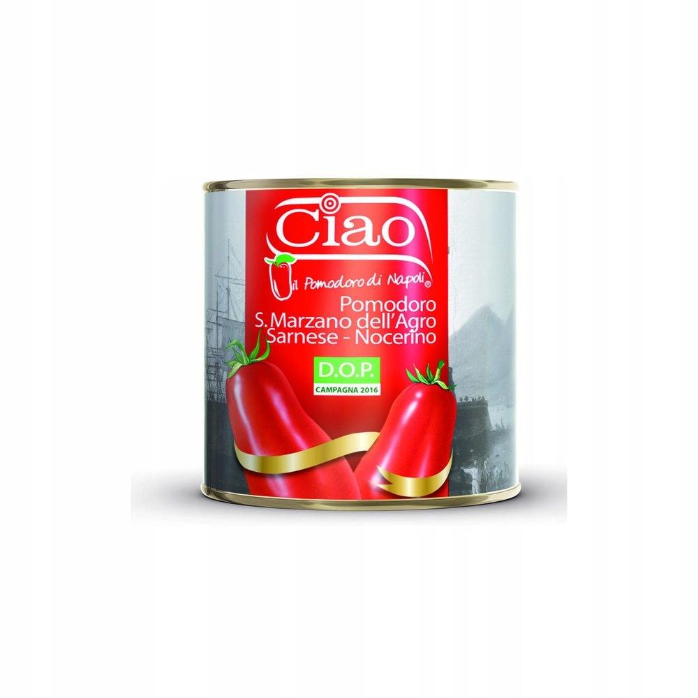 Włoskie Pomidory San Marzano 2,5kg od CIAO jakość!