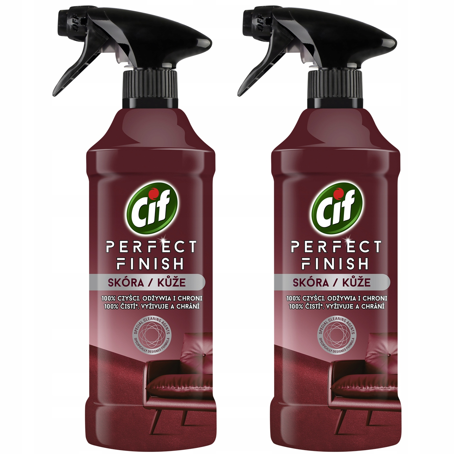 Cif Perfect Finish Spray Skin Cleansing 2x435ml