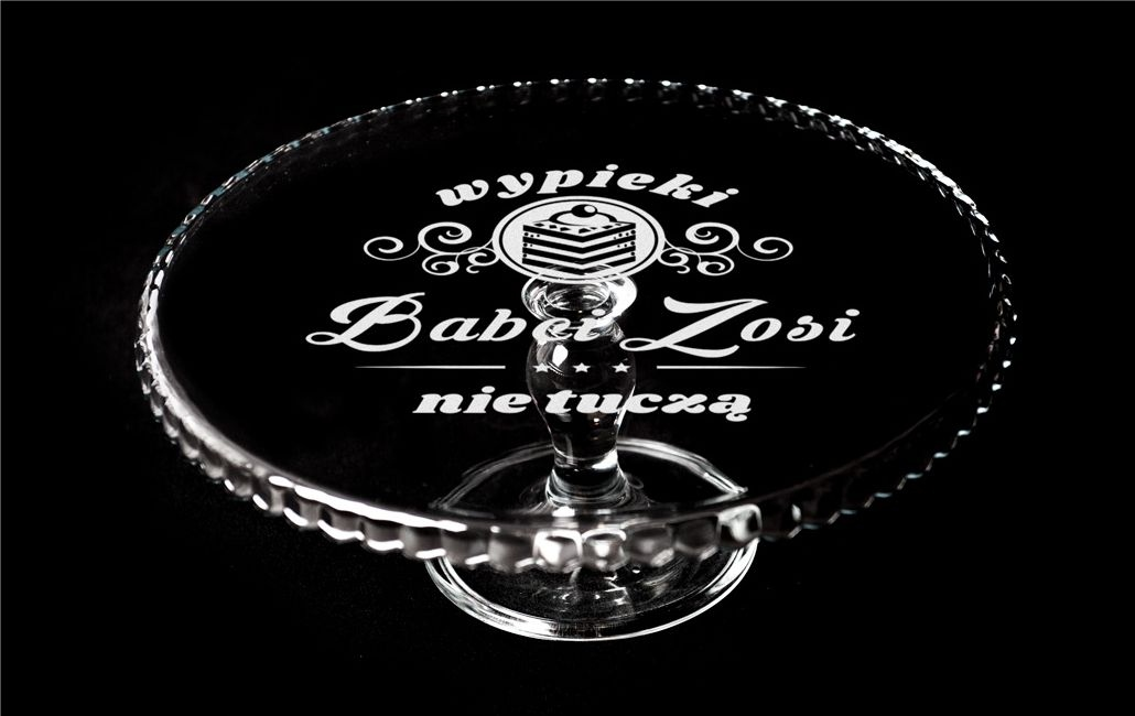 Item Serving platter GLASS ENGRAVER, GIFT, BIRTHDAY, Day