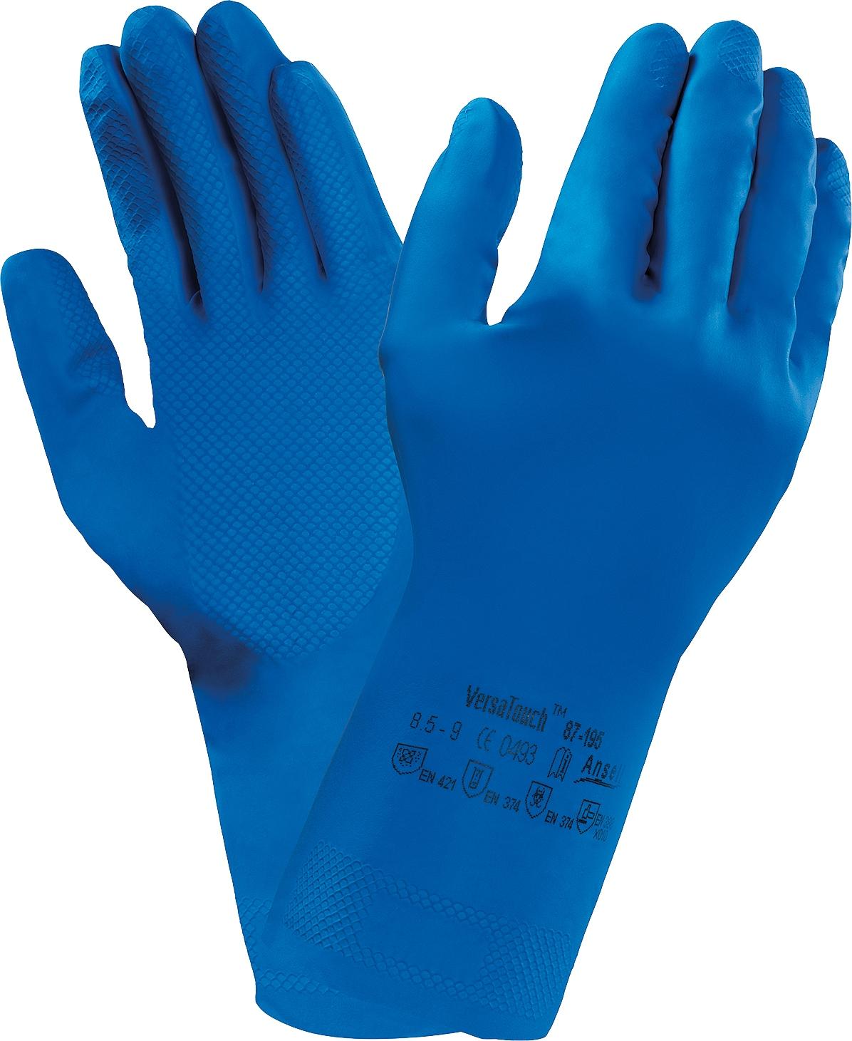 Экономические перчатки Ansell 87-195 AlphaTec r7