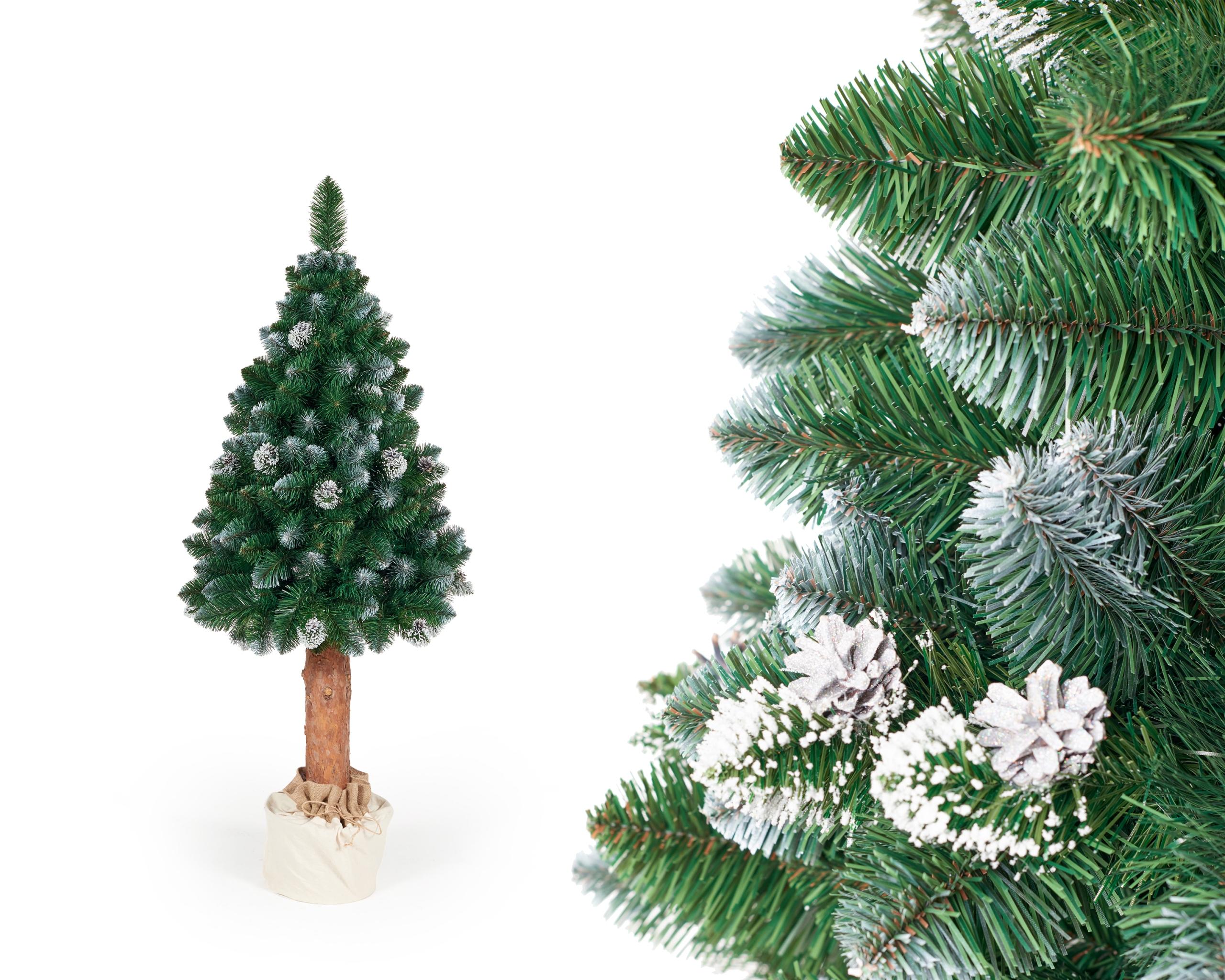 Kmeňový vianočný stromček White Frost 1,65m