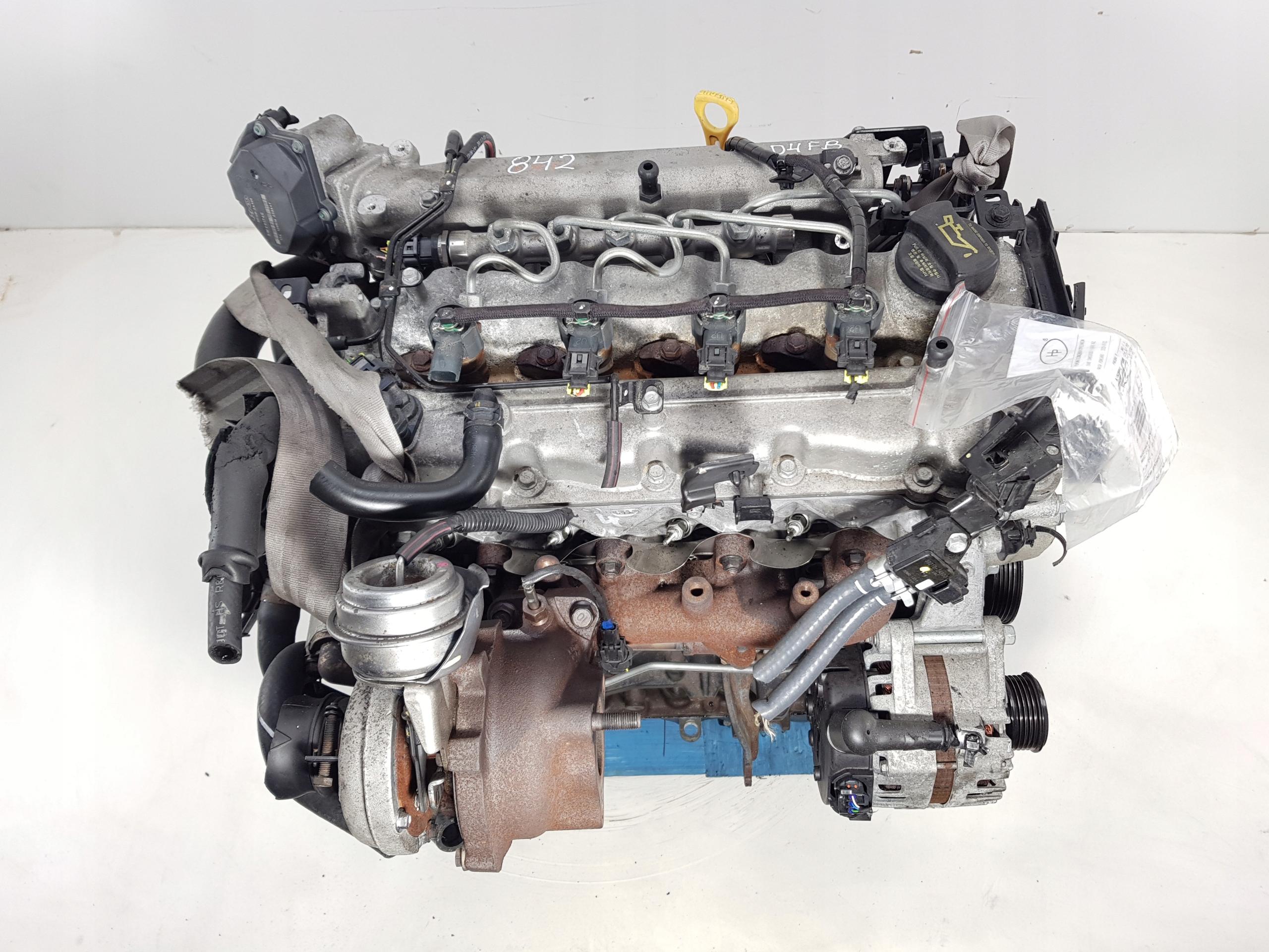 двигатель kia cee'd carens iii venga 16crdi 10-15r