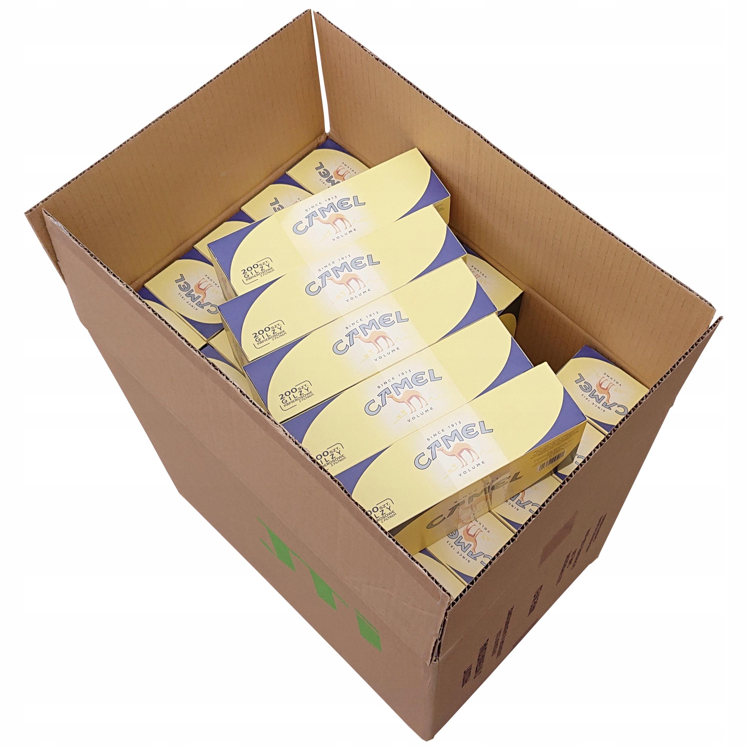 50 трубок Camel 200 шт для желтых сигарет