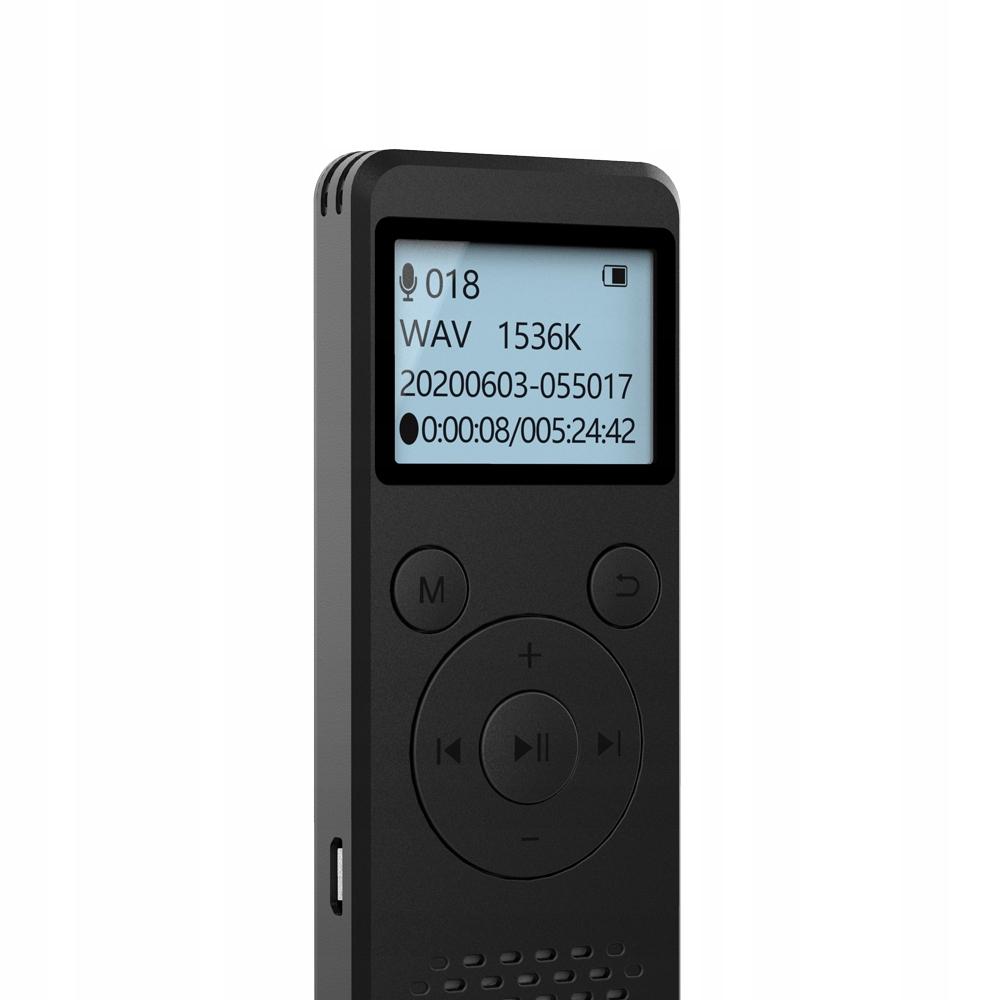 Szpiegowski Dyktafon cyfrowy1536Kbps 8GB detekcja EAN 5902659172587