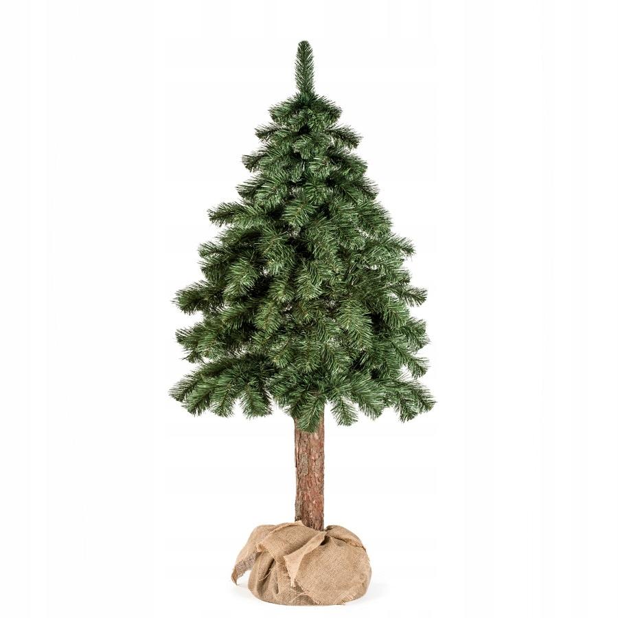 Umelá vianočná jedľa na kmeni 120 cm