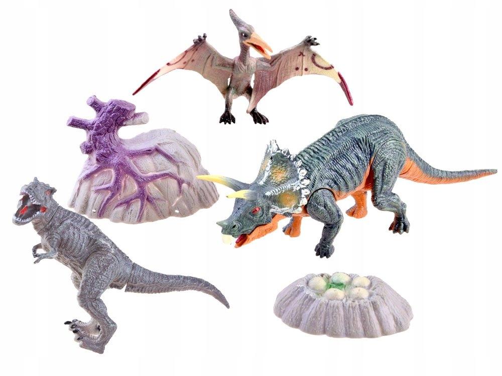 Zestaw dinozaury ręcznie malowane figurki ZA3422 Seria dinozaury