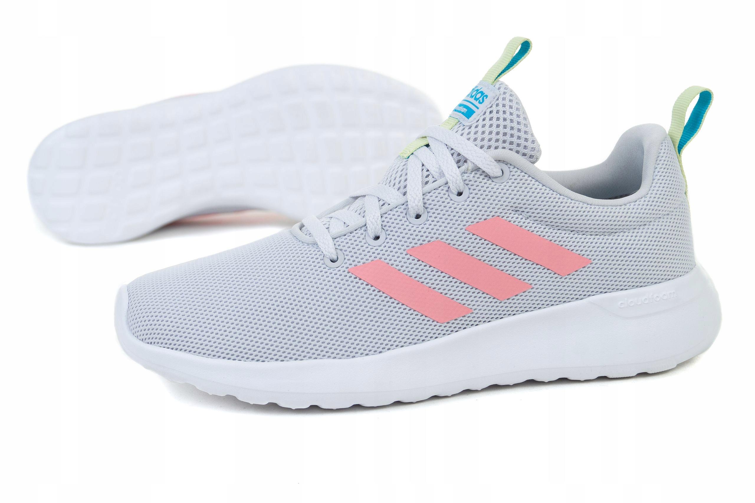 Buty dla dzieci adidas Lite Racer CLN K szare EG3049