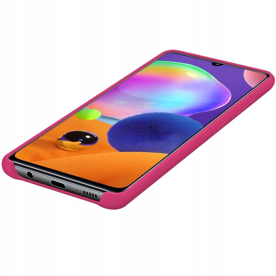 Etui do Samsung Galaxy A31 Case Silikon + Szkło 9H Kod producenta C170