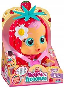 Cry Babies Fantasy Zasnená bábika Ella STRAWBERRY