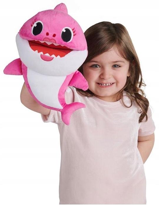 Detský žralok rastúci s maskotom / ručnou bábkou 61180