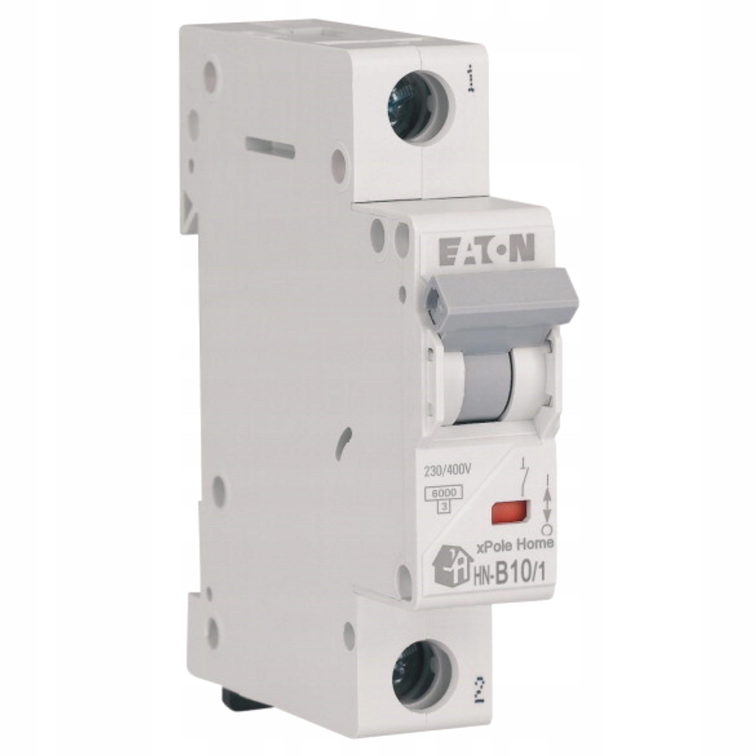 Автоматический выключатель максимального тока 1P B 10A 6kA AC HN-B10 / 1