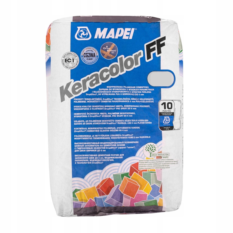 Затирка для швов MAPEI KERACOLOR FF 20кг 114 антрацит