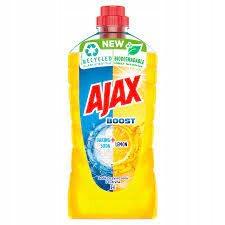 Универсальная жидкость Ajax Boost Soda & Lemon Universal 1л