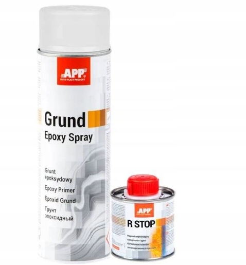 R-STOP Анти-Коррозия-Epoxy Праймер SPRAY APP