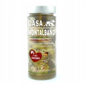 Karczochy w oliwiez Miętą 250g