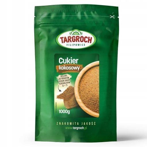 Cukier kokosowy PALMOWY 1kg 1000g NATURALNY GRATIS