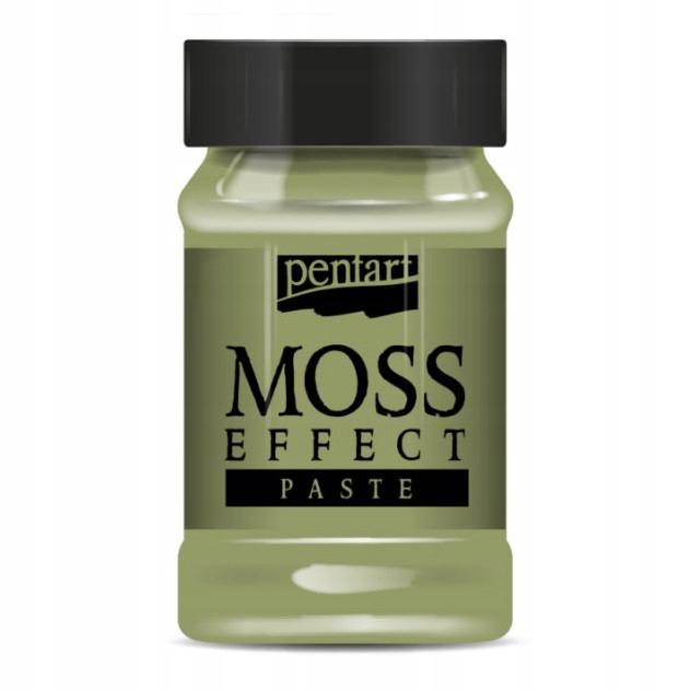 паста эффект мха - Pentart - бледно-зеленый, 100 мл