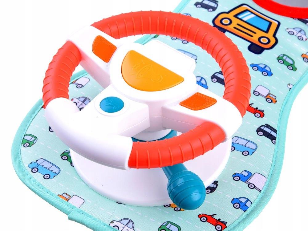 Kierownica do samochodu dla dzieci melodie ZA3415 Materiał Plastik Tkanina