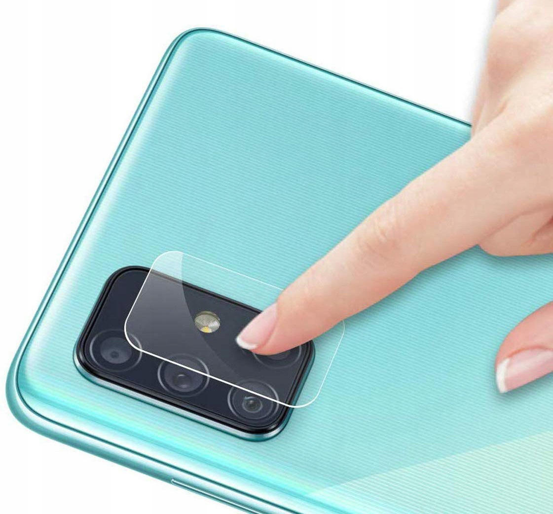 Szkło do Samsung Galaxy M51 na Aparat Obiektyw Tył Dedykowany model Samsung Galaxy M51