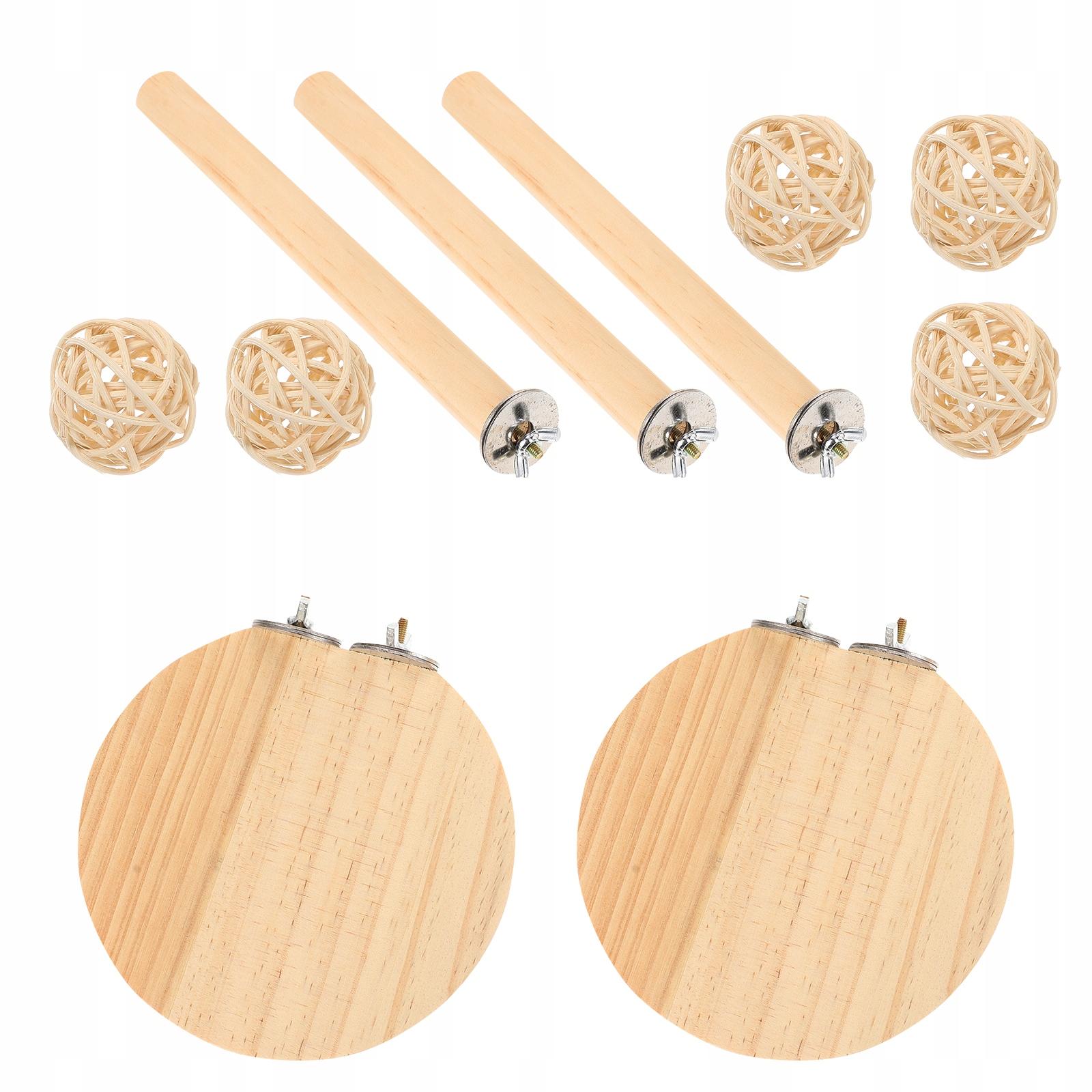1 комплект деревянной платформы для хомяка