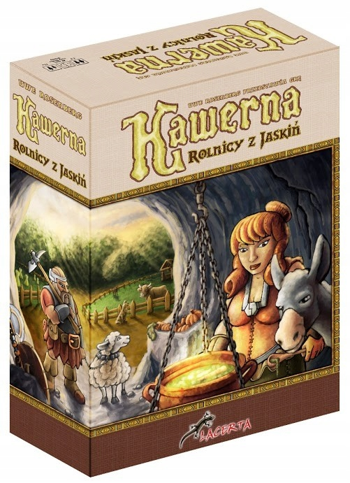 LACERTA Game Cavern: Jaskynní farmári