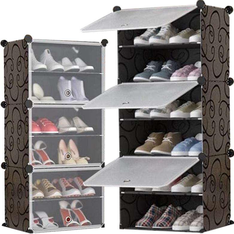 Полка для обуви Книжный шкаф Шкаф Органайзер 6 Полок Модуль